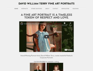 davidterry.fineartstudioonline.com screenshot