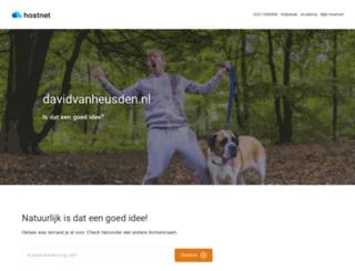 davidvanheusden.nl screenshot