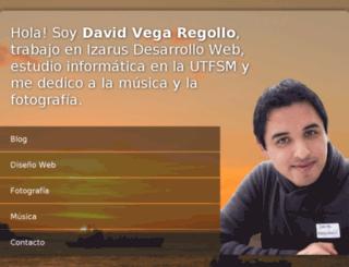 davidvega.net screenshot