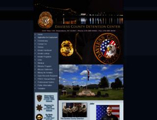 daviesscojail.org screenshot