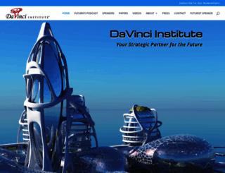 davinciinstitute.com screenshot