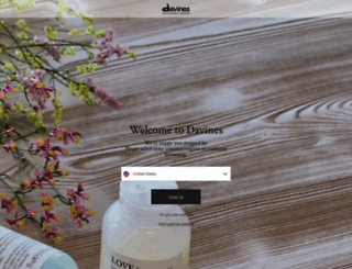 davines.com screenshot