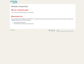 davis.schoolloop.com screenshot