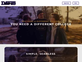 davisny.edu screenshot