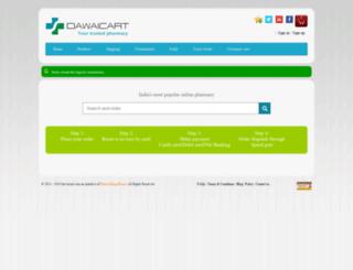 dawaicart.com screenshot