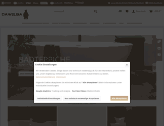 dawelba.de screenshot