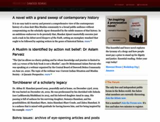 dawoodi-bohras.com screenshot