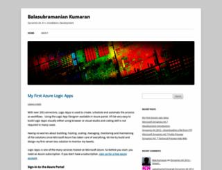 daxbalakumaran.wordpress.com screenshot