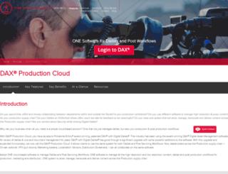 daxcloud.com screenshot