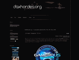 daxhordes.org screenshot