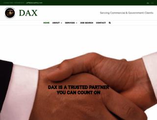 daxsafety.com screenshot