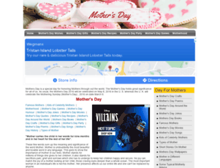dayformothers.com screenshot