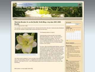 daylilyblogger.com screenshot