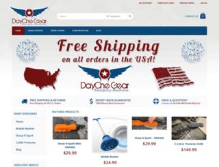 dayonegear.com screenshot
