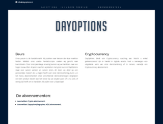 dayoptions.nl screenshot
