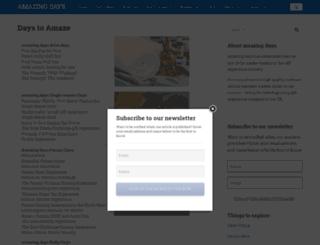daystoamaze.co.uk screenshot