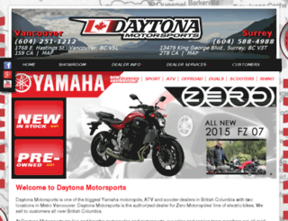 daytonamotorsports.ca screenshot
