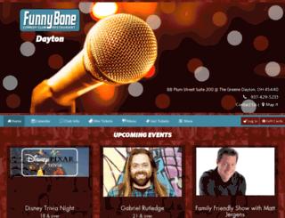 daytonfunnybone.com screenshot
