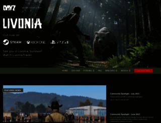 dayz.com screenshot