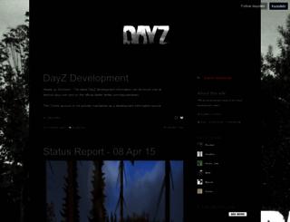 dayzdev.tumblr.com screenshot