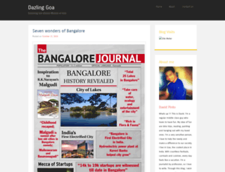 dazlinggoa.wordpress.com screenshot