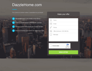 dazzlehome.com screenshot