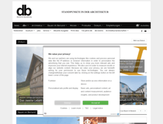db-bauzeitung.de screenshot