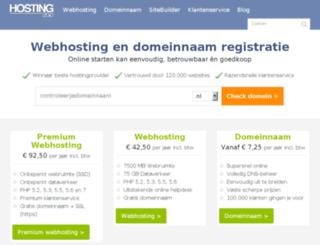 db3.hosting2go.nl screenshot