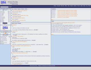 dba-village.com screenshot