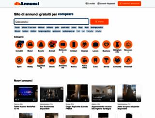 dbannunci.it screenshot