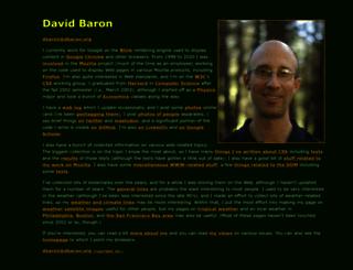 dbaron.org screenshot