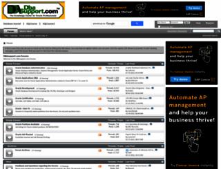 dbasupport.com screenshot