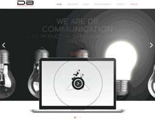 dbcommunication.it screenshot