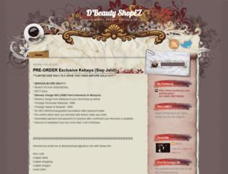 dbeautyshop.blogspot.com screenshot