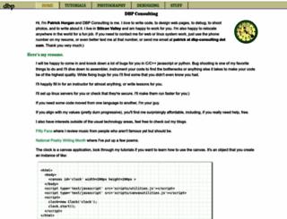 dbp-consulting.com screenshot