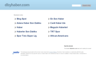 dbyhaber.com screenshot