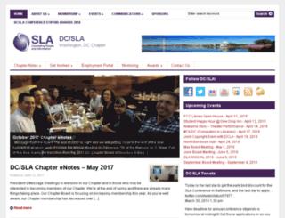 dc.sla.org screenshot