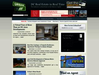 dc.urbanturf.com screenshot