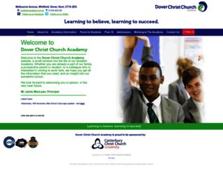 dccacademy.org.uk screenshot
