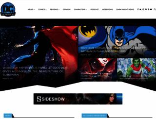 dccomicsnews.com screenshot