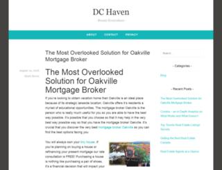 dchaven.com screenshot