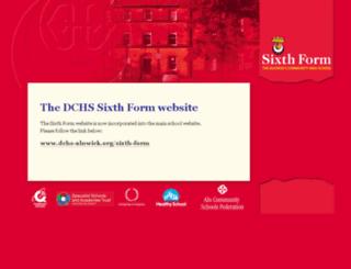 dchs-sixthform.org.uk screenshot