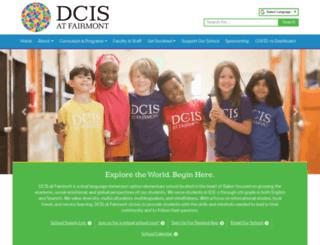dcisfairmont.dpsk12.org screenshot