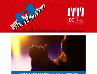 dcjazzfest.org screenshot