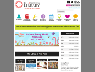 dcls.org screenshot