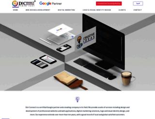 dconnect.com.sa screenshot