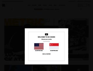 dcshoes.com.sg screenshot