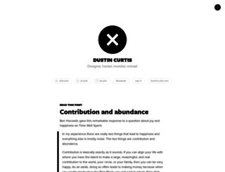 dcurtis.svbtle.com screenshot