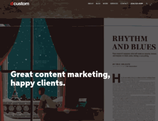 dcustom.com screenshot