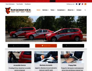 dcyellowcab.com screenshot